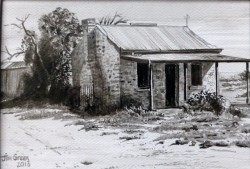 Abandoned Hut, Silverton