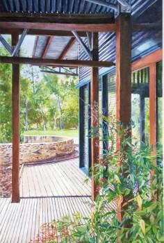 Living Kaurna Cultural Centre, Warrapiringa, Final Painting.