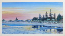 'North Beach Walleroo', acrylic on canvas, 400 mm x 250 mm, SOLD